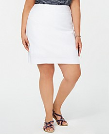 Plus Size Pull-On Skort, Created for Macy's