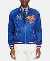 542e1b5e876c Polo Ralph Lauren Men s Satin Souvenir Baseball Jacket