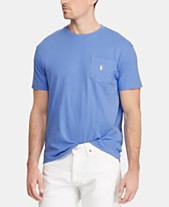 new product f6acf e21f0 Polo Ralph Lauren Men s Big   Tall Classic Fit Pocket T-Shirt