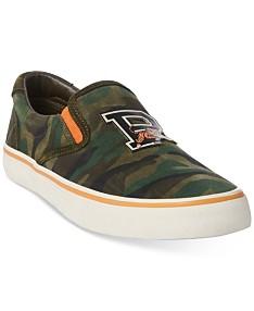 3e9487de0eb Polo Ralph Lauren Mens Shoes - Macy's