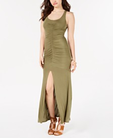 GUESS Tayla Ruched Maxi Dress