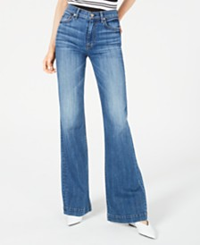 7 For All Mankind Ginger Wide-Leg Jeans