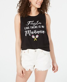 Love Tribe Juniors' Fiesta Graphic Tank Top