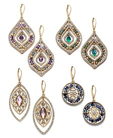 Bead & Stone Drop Earring Collection