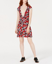 Free People Key To Your Heart Fit & Flare Mini Dress