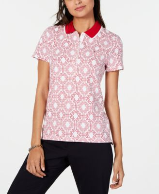 Printed Short-Sleeve Polo, Created for Macy's