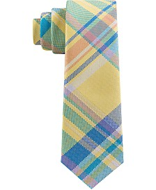 Tommy Hilfiger Toddler & Little Boys Pastel Plaid Silk Tie