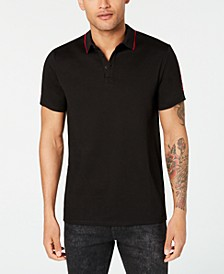 Men's Pique Guess Tape Polo