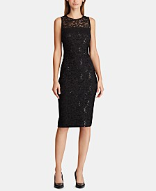 Lauren Ralph Lauren Sleeveless Lace Dress