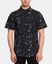 fb830bd9d4 Ezekiel Men's Seal Team Regular-Fit Stretch Camouflage Shirt