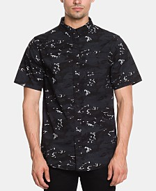 Ezekiel Men's Seal Team Regular-Fit Stretch Camouflage Shirt