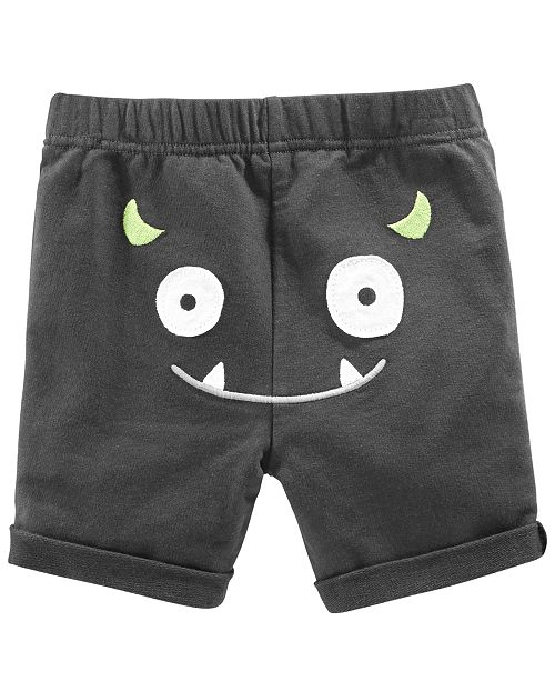 First Impressions Toddler Boys Monster Graphic Shorts, Created for Macy's