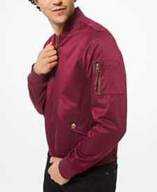 Michael Kors Men's Bomber Jacket, Created for Macy's
