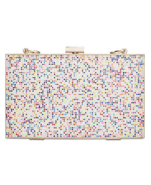 INC International Concepts I.N.C. Arielle Rainbow Box Clutch, Created for Macy's