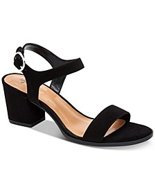 Mollee Block-Heel Sandals, Created for Macy's