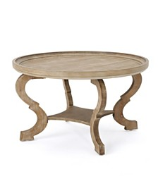 Althea Circular Coffee Table, Quick Ship