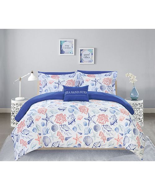 Chic Home Dalis 8 Piece King Bed In a Bag Comforter Set