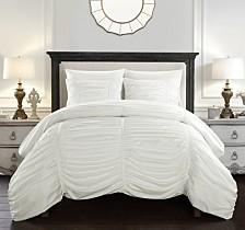 Chic Home Kaiah 3 Piece King Comforter Set