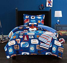 Chic Home Sport Camp 5 Piece Full Comforter Set