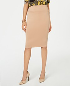 Thalia Sodi Scuba Pencil Skirt, Created for Macy's