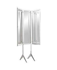 Free Standing Triple View 3 Way Bedroom Dressing Mirror