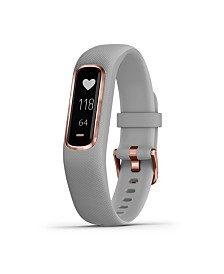 Garmin Vivosmart 4 Activity Tracker in Gray and Rose Gold