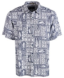 Quiksilver Waterman Men's Fish Graphic Shirt