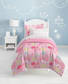 Dream Factory Pretty Princess Twin Comforter Set
