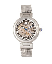 Empress Adelaide Automatic Silver Stainless Steel Watch 38mm