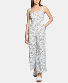 1.STATE Afternoon Bouquet Tie-Back Jumpsuit