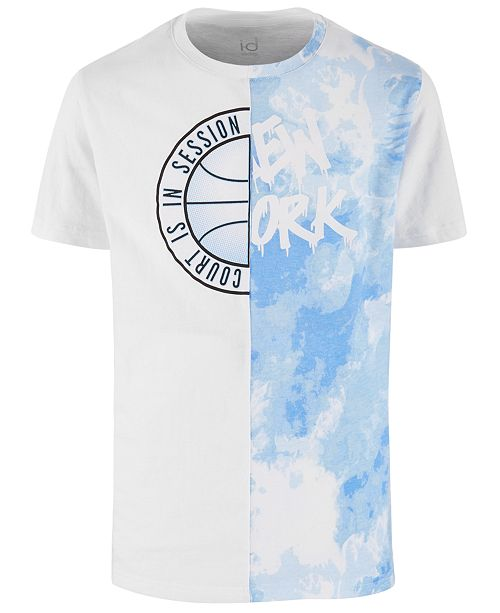 Ideology Big Boys Spliced T-Shirt, Created for Macy's