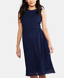 Maternity Lace A-line Dress