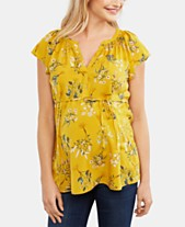 309d8d53907 Tops Maternity Clothes For The Stylish Mom - Macy's