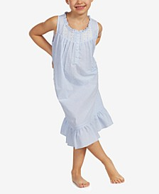 Mommy And Me Collection Toddler-Size Swiss Dot Ballet Nightgown