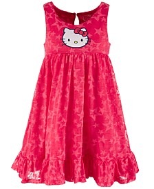 Hello Kitty Little Girls Star Dress, Created for Macy's
