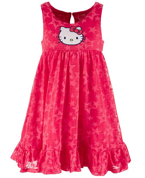 Hello Kitty Toddler Girls Star Dress, Created for Macy's