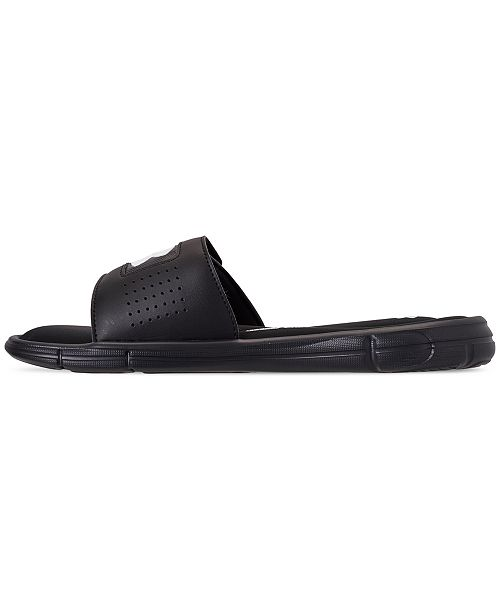 dc79124a60e9 Under Armour Men s Ignite V Slide Sandals from Finish Line   Reviews ...
