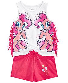 My Little Pony Toddler Girls 2-Pc. Fringe Tank Top & Shorts Set