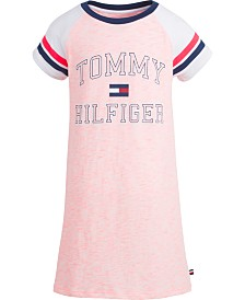 Tommy Hilfiger Big Girls Colorblocked T-Shirt Dress