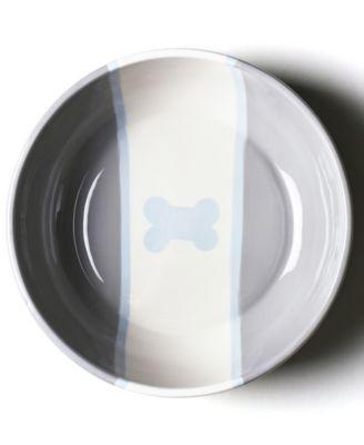by Laura Johnson Stone Color Block Dog Bone Large Bowl