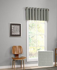 "Palisade 52"" x 18"" Grommet Valance"