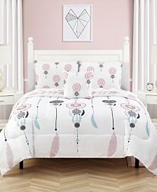 Dreamy 5 Pc Twin Comforter Set