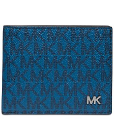 Michael Kors Men's Jet Set Logo-Print Slim Billfold