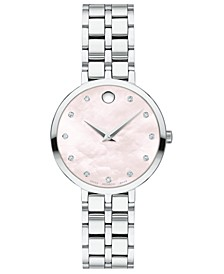 Women's Swiss Kora Stainless Steel Bracelet Watch 28mm