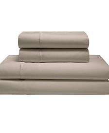 Silky Soft Long Staple Cotton Solid Full Sheet Set