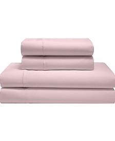Silky Soft Long Staple Cotton Solid Queen Sheet Set