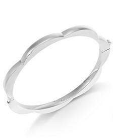Scalloped Bangle Bracelet