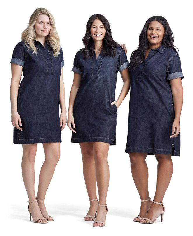 Lauren Ralph Lauren Denim Shift Dress