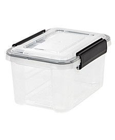 Iris 6.5 Quart Weather tight Storage Box