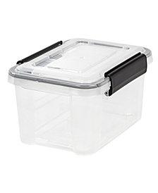 Iris 6.5 Quart Weather tight Storage Box